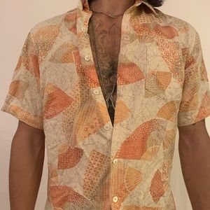 Tori Richard Honolulu Silk Hawaiian shirt